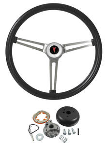 1959-1963 Catalina Steering Wheel, Classic Pontiac, by Grant