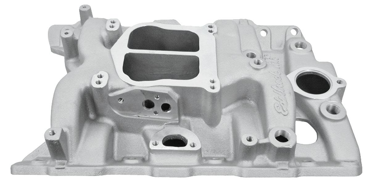 Photo of Intake Manifold, Performer Pontiac satin, non-EGR