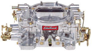 Carburetor, 500 CFM Manual Choke, by Edelbrock
