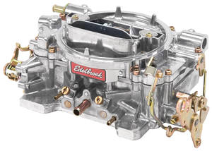 Carburetor, 600 CFM Manual Choke w/Standard Finish, by Edelbrock