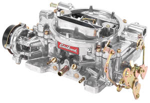 1961-1973 LeMans Carburetor, 600 CFM Square-Bore, Electric Choke w/Standard Finish (Non-EGR), by Edelbrock