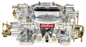 Carburetor, 750 CFM Manual Choke, by Edelbrock
