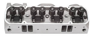 1965-77 Bonneville Cylinder Head, Performer RPM 72cc (Full Machined), by Edelbrock