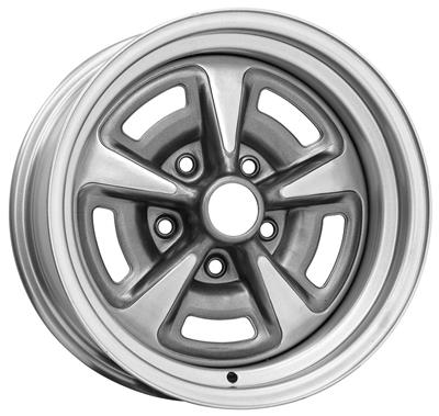 "1964-1973 GTO Wheel, Rally II 15"" X 8"" (4-1/2"" B.S.), by SPECIALTY WHEEL"