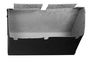1966-67 El Camino Interior Glove Box w/o AC