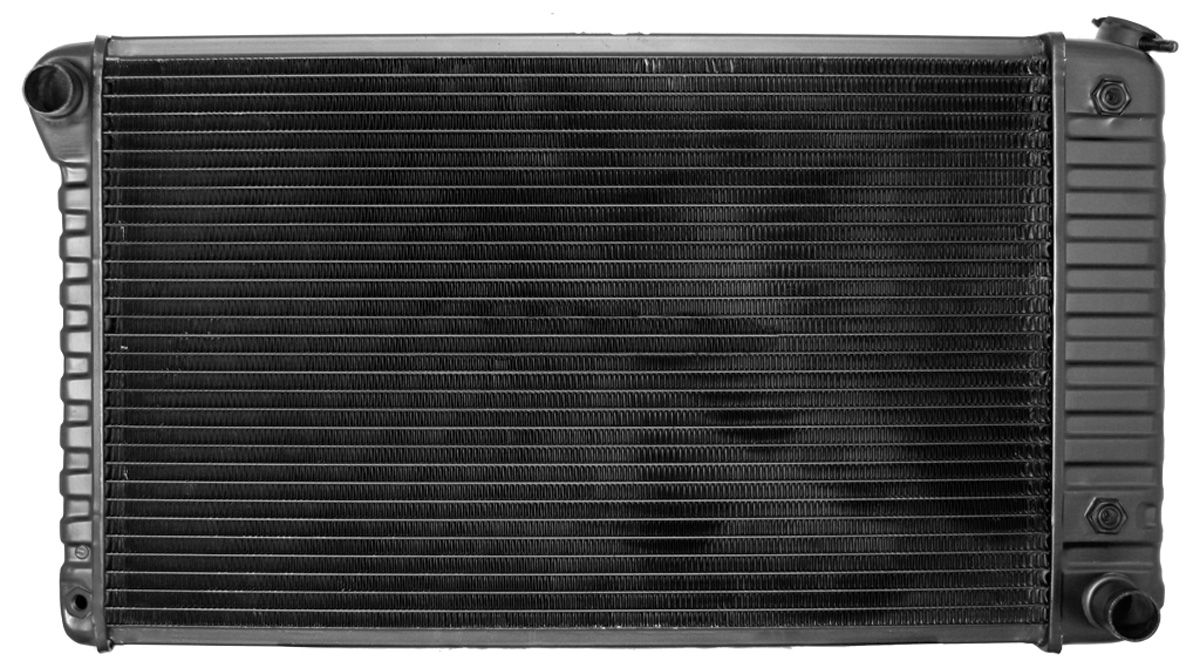 "Photo of Radiator, Original Style 28-3/8"" X 17"" X 2"" Core; 2-3/4"" Lh Mount, 3-1/2"" Rh Mount AT, V8"