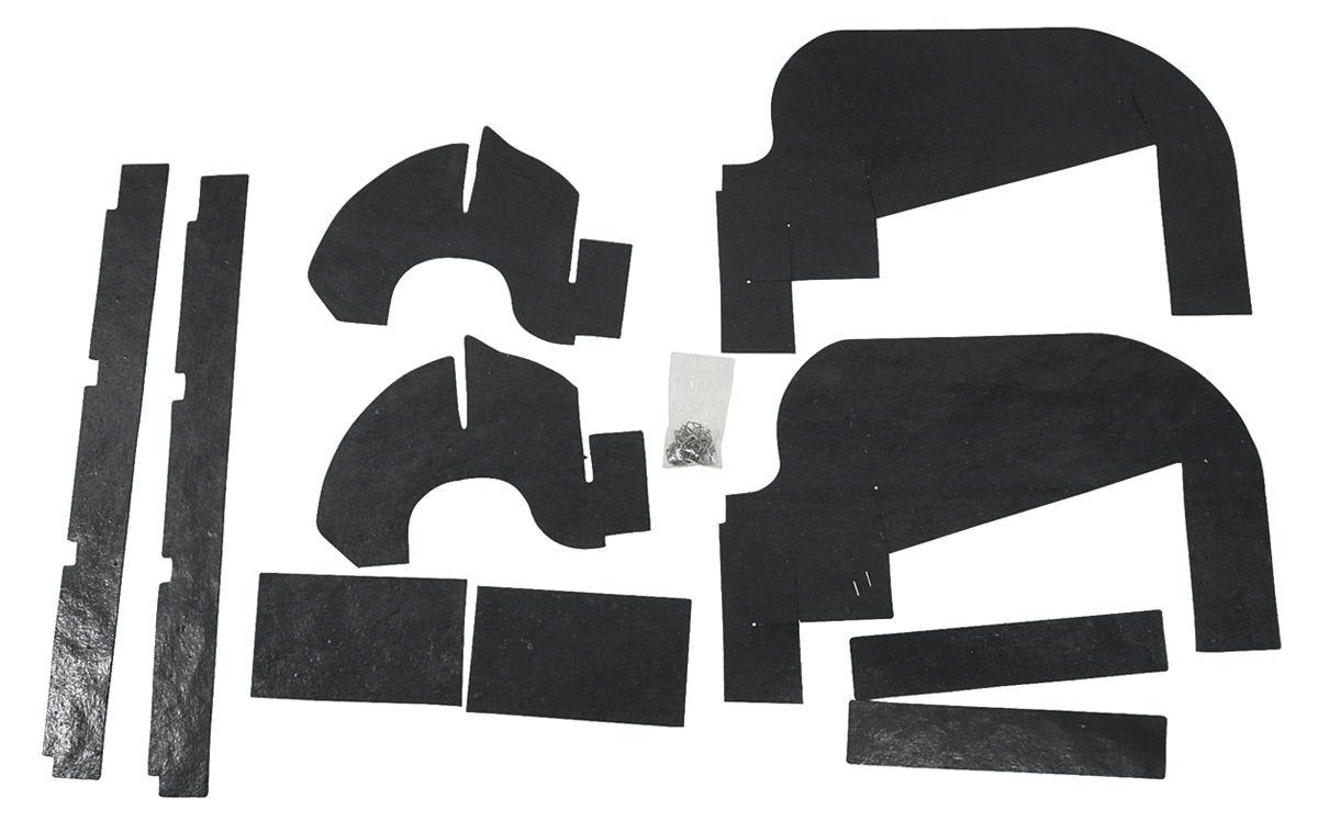 Photo of Radiator Seal radiator baffle to frame seal w/clip (2-piece)