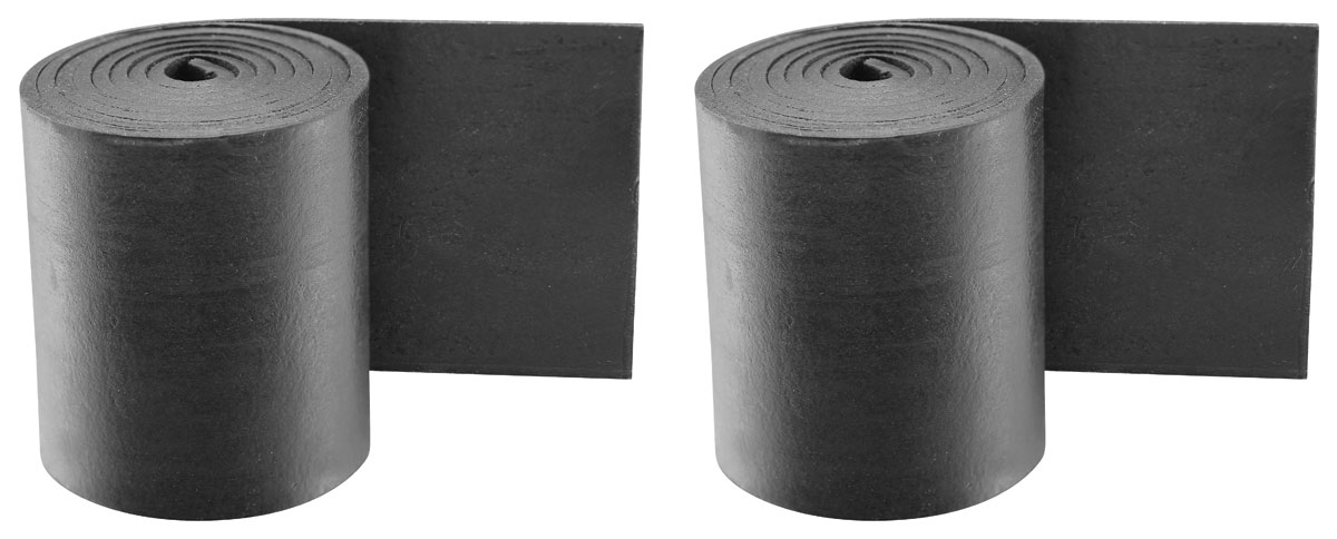 Photo of Quarter Window Weatherstrip Retainers rubber seal