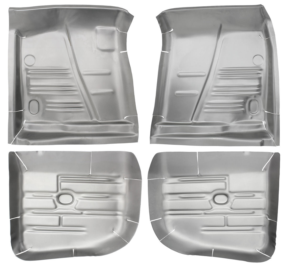 Photo of Floor Pan, Steel (1961-64 Bonneville, Catalina & Grand Prix) complete kit, 4-piece