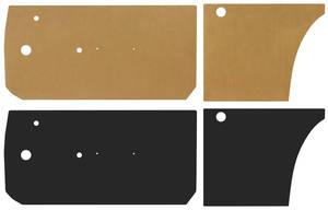 1963-64 Catalina Door Panel Water Shields 2-dr. Hardtop