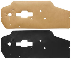 1971-1976 Catalina Door Panel Water Shields Bonneville & Catalina, 2-dr., by Repops