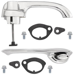 1963-66 Catalina Door Handle Replacement Kit Front Or Rear 2-dr./4-dr.
