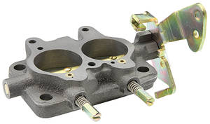 1959-65 Grand Prix Carburetor Base Assembly, Tri-Power Center