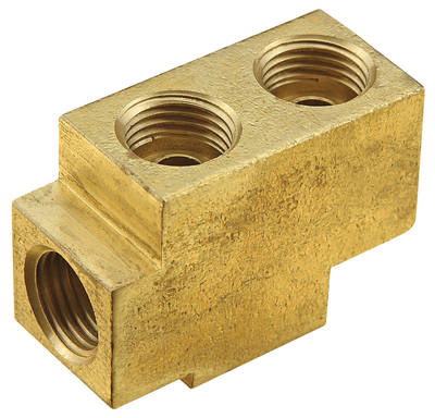 1959-1960 Bonneville Fuel Block 1/4 Inlet