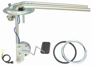 "1973-1977 Chevelle Fuel Tank Sending Unit 3 Outlet, 3/8"" Line, Exc. Station Wagon/El Camino"