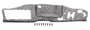 1961-62 Bonneville Firewall Insulation Pad, Original Style 2-Pcs.