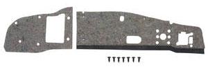 1965-1966 Grand Prix Firewall Insulation Pad, Original Style w/AC