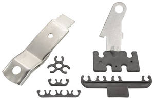 1967-1967 Catalina Spark Plug Wire Brackets 5-Piece