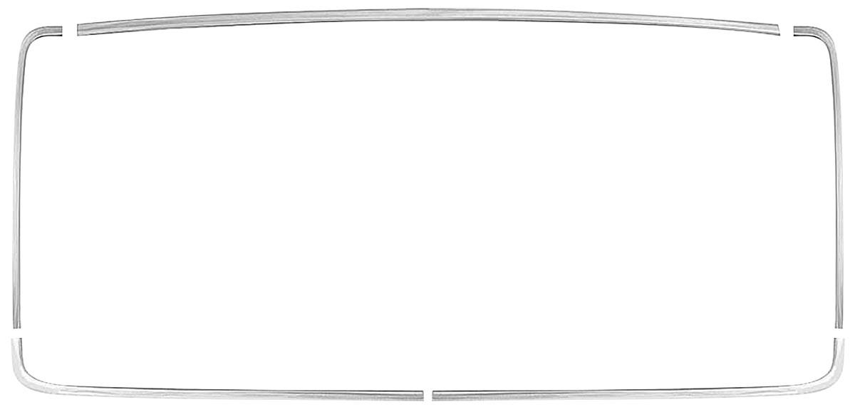 Photo of Window Reveal Moldings, Rear 2-dr. hardtop (5-piece)