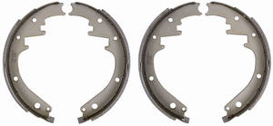 "1959-64 Brake Shoes, Bonneville & Catalina (Drum) Economy Rear, 11"" X 2"""