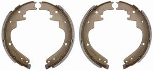 "1965-70 Brake Shoes, Bonneville & Catalina (Drum) Premium Front, 11"" X 2-1/2"""