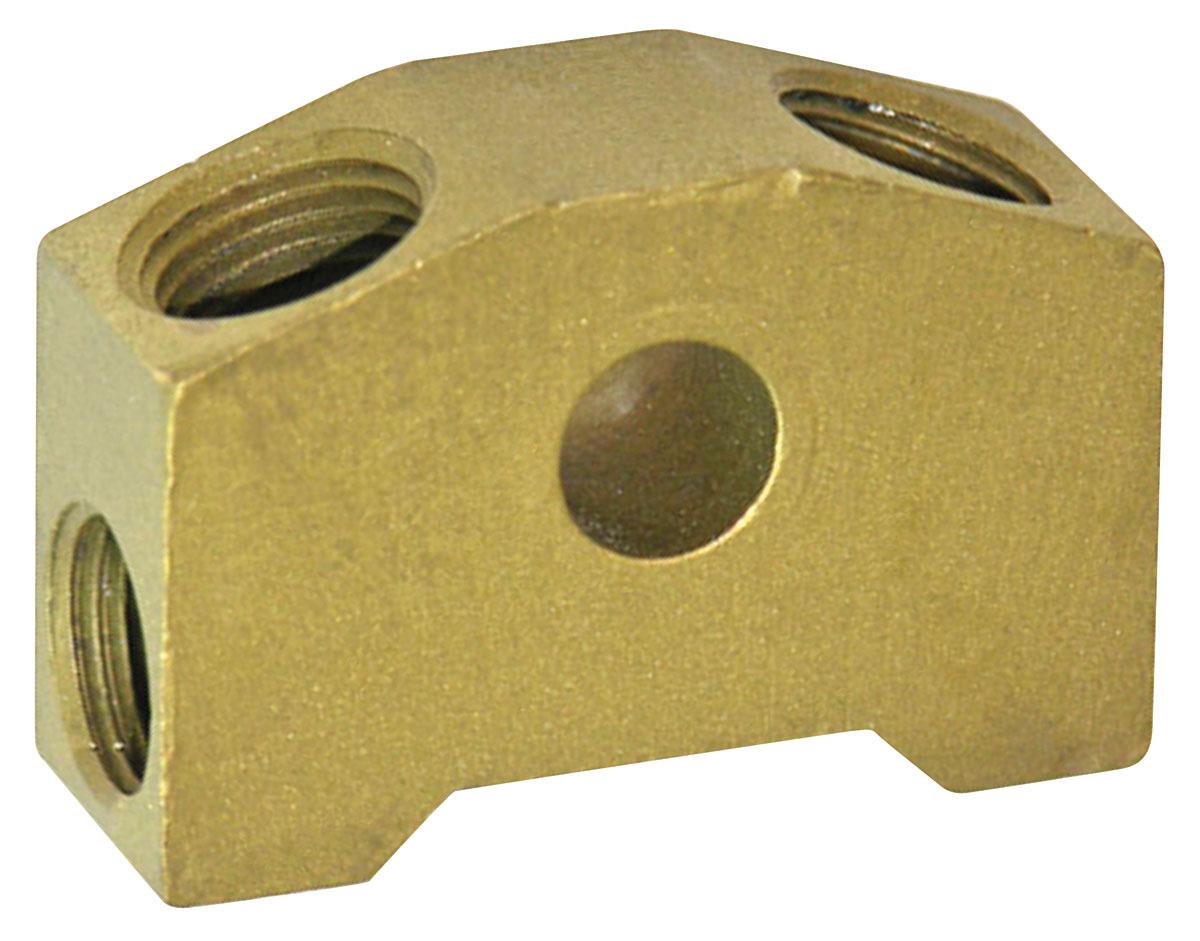 Photo of Brake Fluid Distribution Block OE single master cylinder