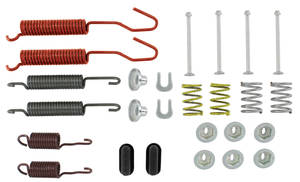 1971-1976 Catalina Brake Hardware Kits (Drum) Bonneville and Catalina Rear, Wagon, by Kanter