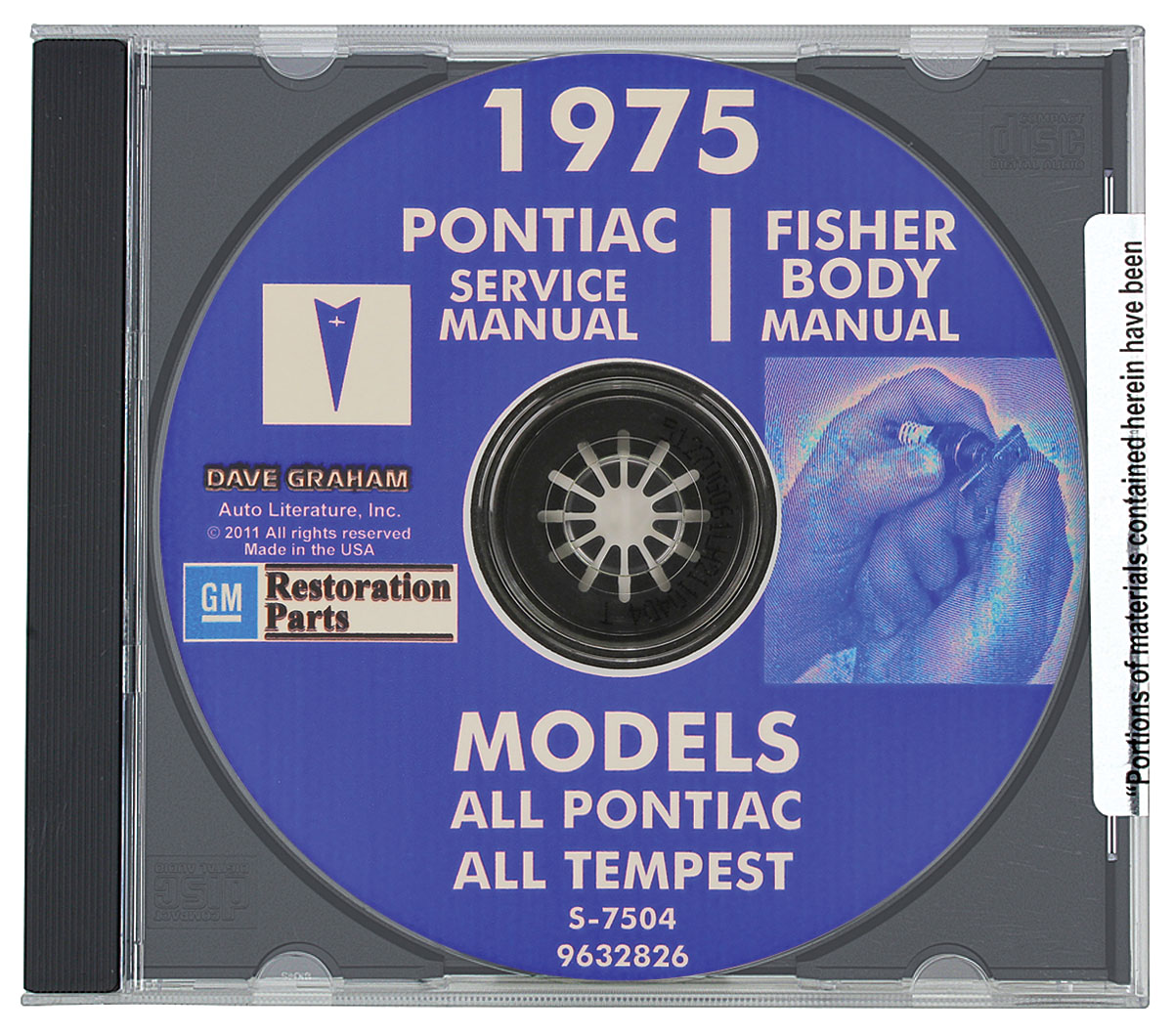 Photo of Factory Shop Manuals, CD-ROM Service & Body
