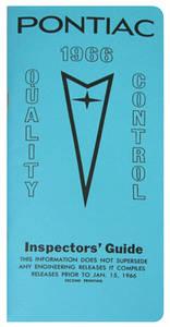 1966-1966 Catalina Line Inspector Guidebook, Pontiac