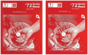 1972 Grand Prix Chassis Service Manuals