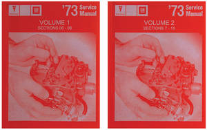 1973 Grand Prix Chassis Service Manuals