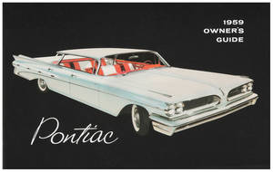 1959-1959 Bonneville Owners Manuals, Pontiac