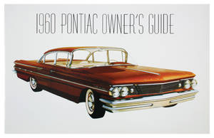 1960 Grand Prix Owners Manuals, Pontiac
