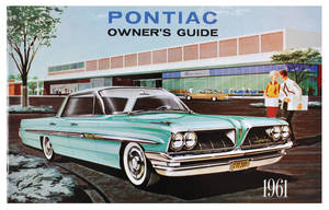 1961-1961 Bonneville Owners Manuals, Pontiac