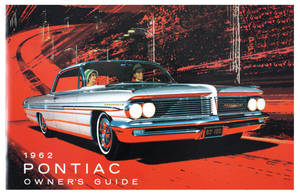 1962 Catalina Owners Manuals, Pontiac