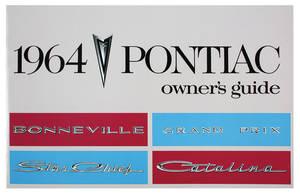 1964-1964 Bonneville Owners Manuals, Pontiac