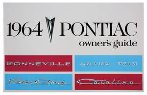 1964 Bonneville Owners Manuals, Pontiac