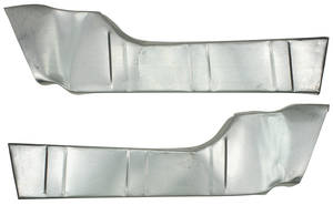 1961-64 Trunk Inner Side Fillers (Grand Prix & Catalina)