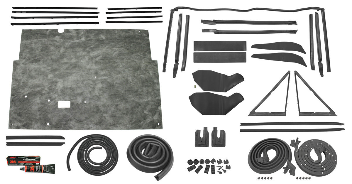 Photo of Stage II Convertible Weatherstrip Kit GTO/LeMans