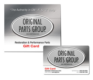Original Parts Group Gift Card