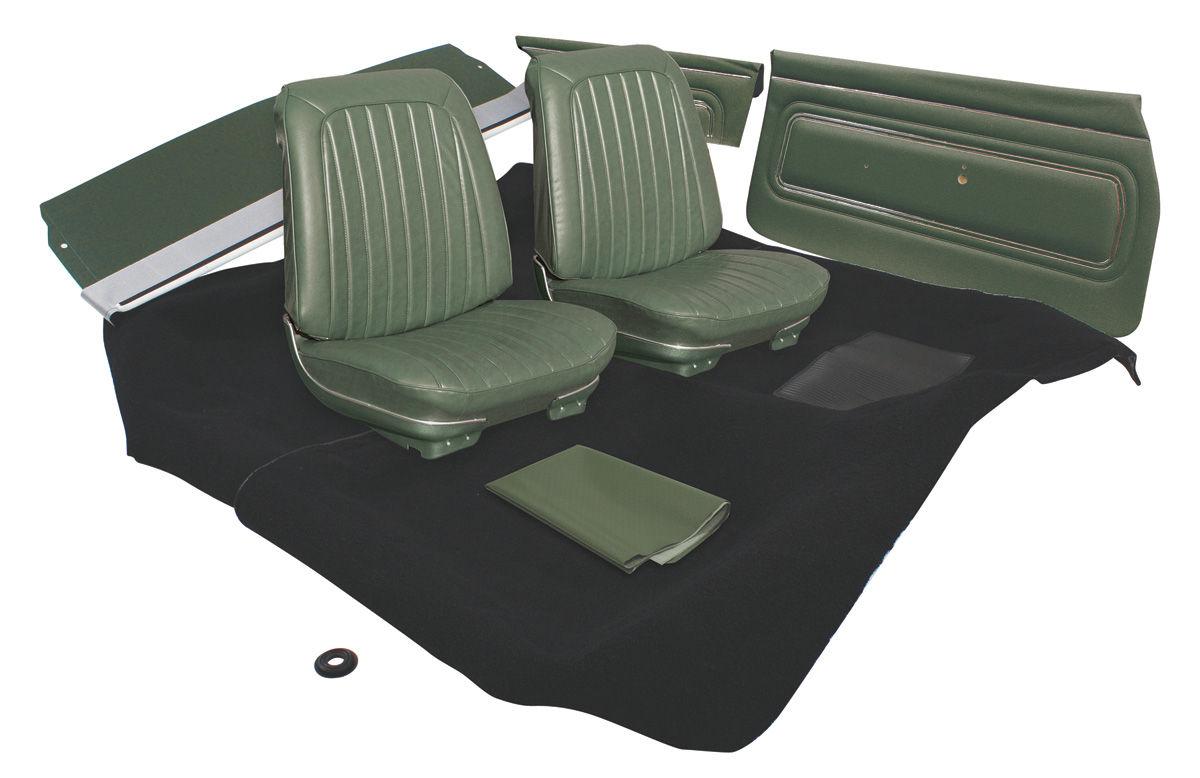 1967 gto interior kit stage i coupe