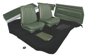 1967-1967 GTO Interior Kit, Stage I, Coupe