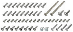 1967 Cutlass/442 Interior Screw Kit 2-Door Hardtop (51-Pcs.)
