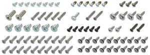1971 Cutlass/442 Interior Screw Kit 2-Door Convertible (87-Pcs.)