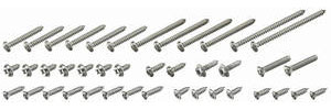 1971 GTO Exterior Screw Kit 45 Screws