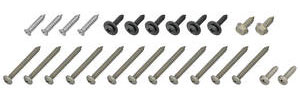 1971-72 Exterior Screw Sets, Chevelle