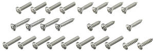 1964 LeMans Exterior Screw Kit 21 Screws