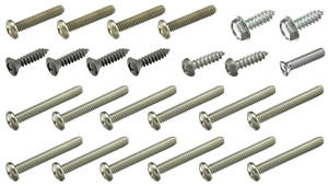 1967 Tempest Exterior Screw Kit 26 Screws