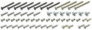 1970-1970 GTO Exterior Screw Kit 57 Screws