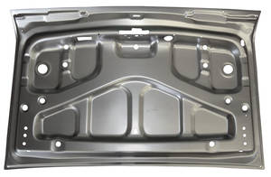 1969-1970 Grand Prix Deck Lid Outer Skin; Grand Prix Inner